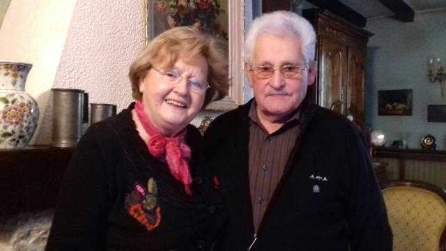 Mireille et Gérard Champagne @elodierabelle