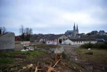 'ancien centre de loisirs de la SNCF a été démoli, sur le Pôle gare, du côté du quartier de l'Épargne. © photo : quentin reix