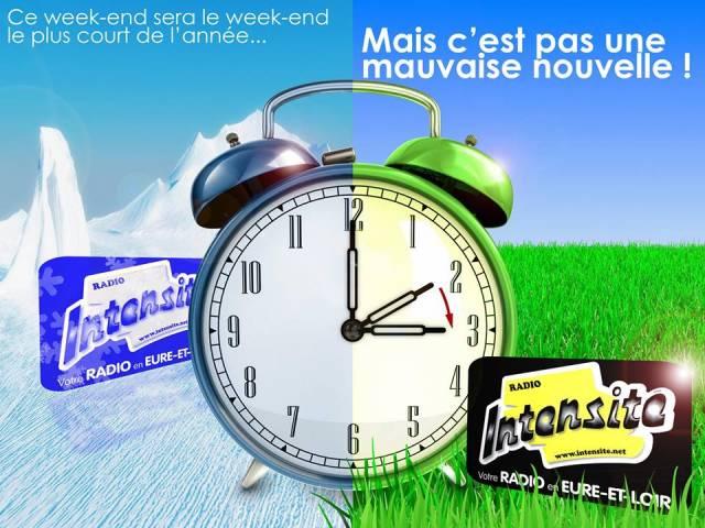 France changement d 39 heure la nuit prochaine radio - Date changement d heure ...