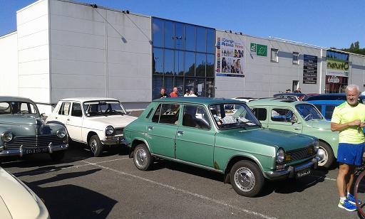 chartres - rassemblement de voitures anciennes en photos   radio