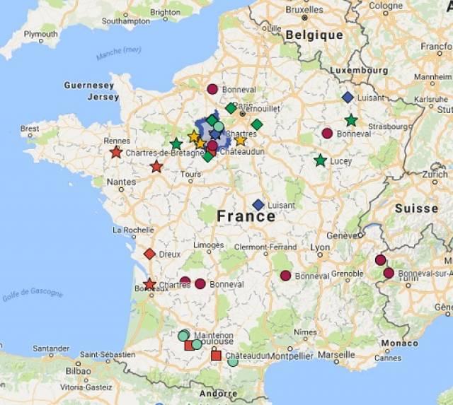 Ville Avec Un Homonyme En France