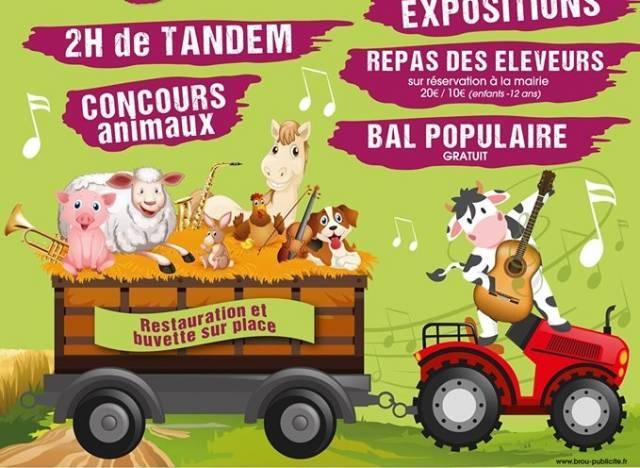 Calendrier Comice Agricole Sarthe 2019.Yevres La Fete Tout Le Week End Avec Le Comice Agricole