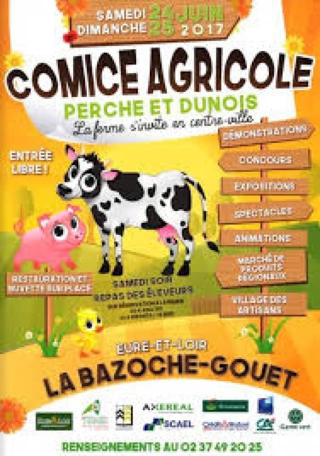 Calendrier Comice Agricole Sarthe 2019.La Bazoche Gouet 15 000 Personnes Attendues Au Comice