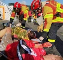 NOGENT-LE-ROTROU – Tuerie de masse : un exercice d'ampleur pour la Sécurité Civile - Radio Intensité